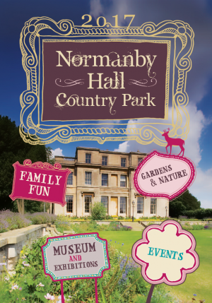 2017 Normanby Hall Country Park leaflet graphic