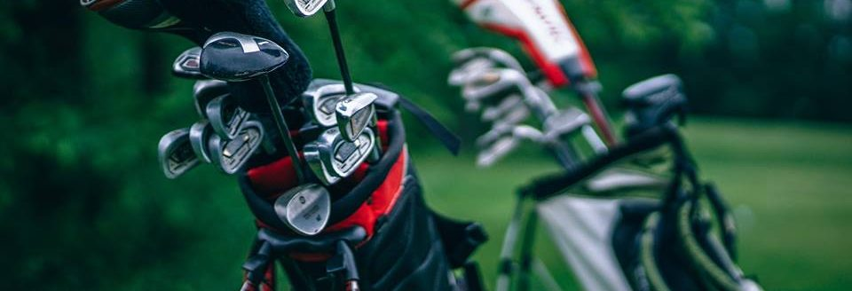 photo of golf clubs