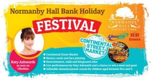 Normanby Hall hosts its first Bank Holiday Festival graphic