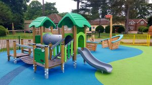 New play areas now open graphic