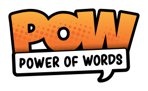 Power of Words Festival Family Fun Day graphic