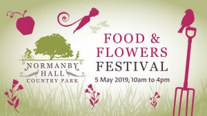 Food & Flowers at Normanby Hall graphic