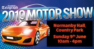 Rev up for the 2019 Scunthorpe Telegraph Motor Show graphic