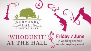 Whodunit at the Hall graphic