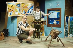 Outdoor Theatre: The Boy Who Bit Picasso graphic
