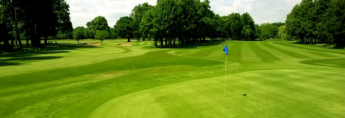Normanby Hall Golf Course greens