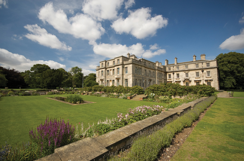 Photo of the grounds of Normanby Hall