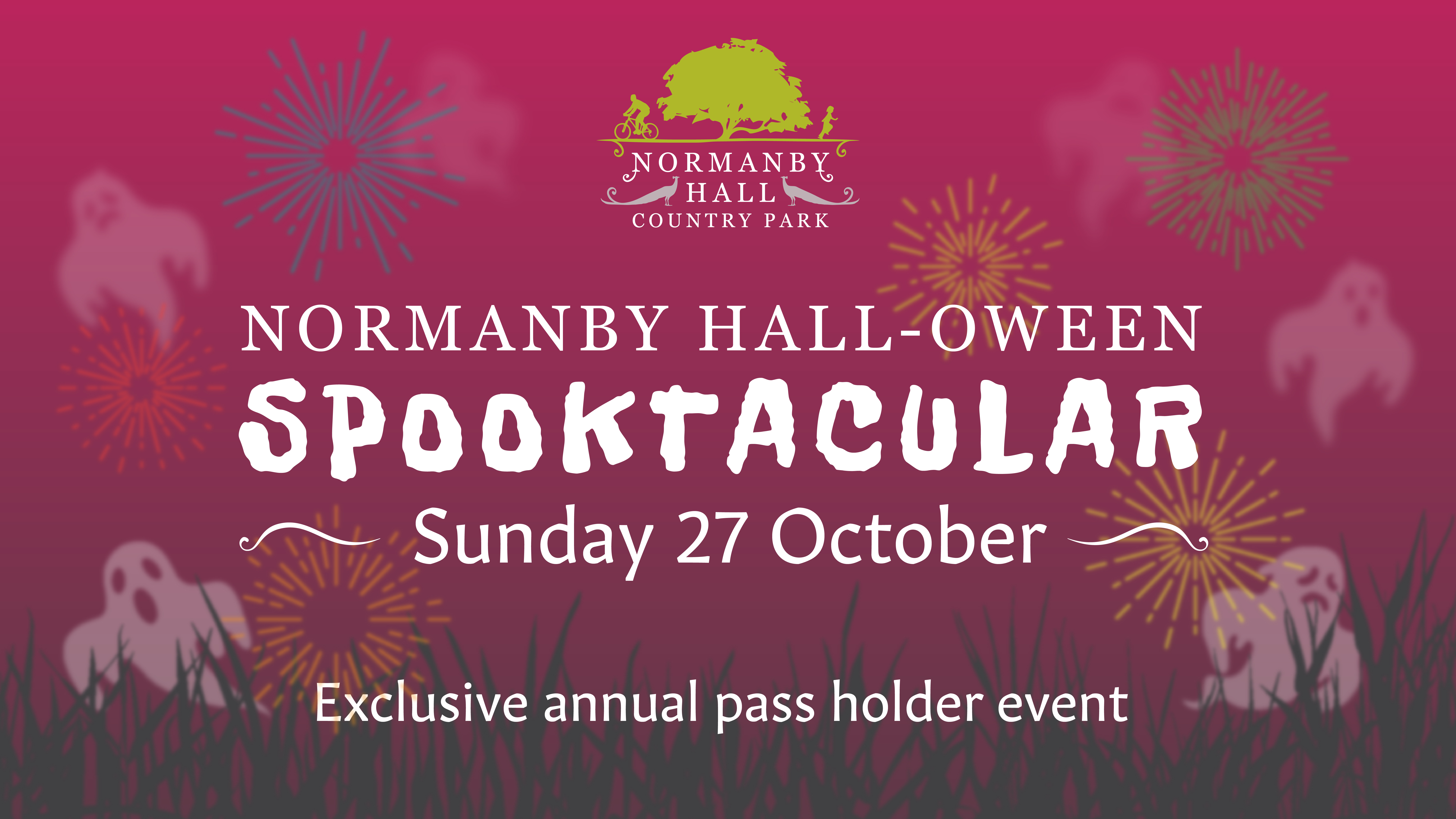 Normanby Hall-oween Spooktacular! graphic