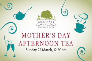 Mother's Day Afternoon Tea graphic