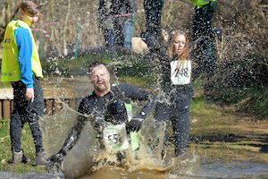 photo of Racers enjoying the Curlys Adventure Race at Normanby Hall Country Park