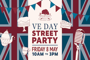 VE Day Street Party graphic