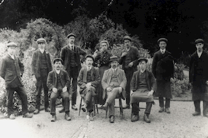Gardeners at Normanby Hall