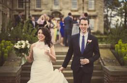 Bride & Groom steps