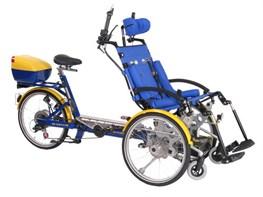 draisin plus wheelchair tandem
