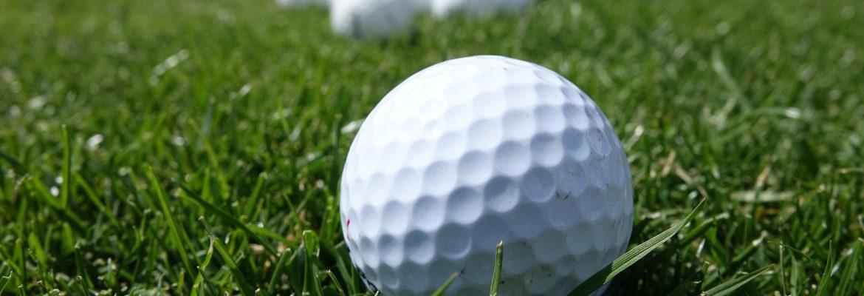 photo of golf balls